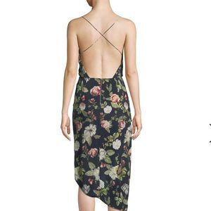 🆕Alice + Olivia Reena Open-Back Dress